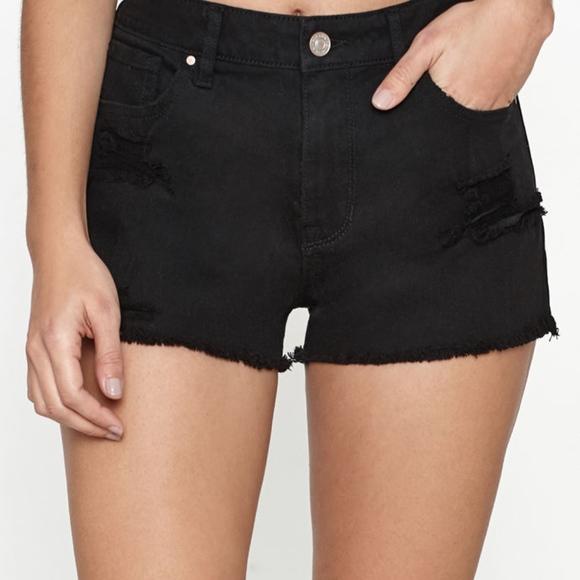 035f92c695 PacSun Shorts   Black Distressed High Rise Short Nwt 27   Poshmark
